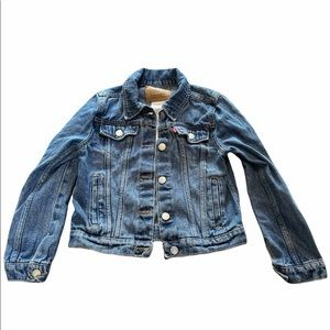 Vintage kids Levi's jean jacket age 8-10 years
